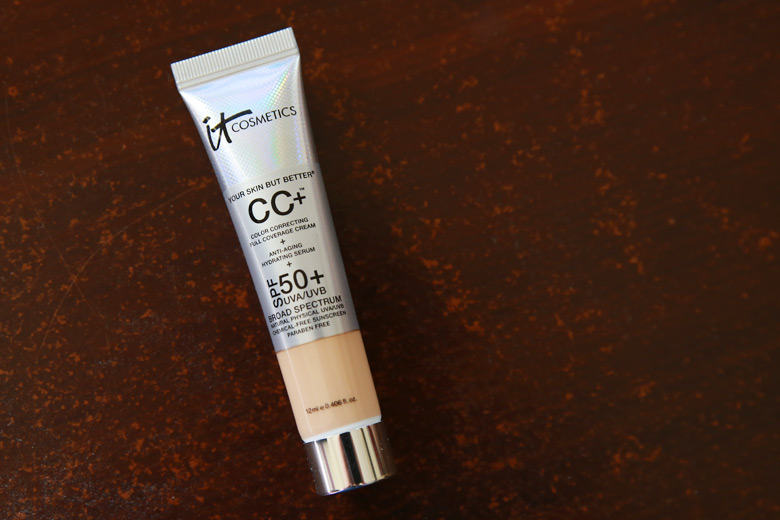 IT Cosmetics CC+ Colour Correcting Full Coverage Cream: Tell Me I'm Smelling Things!