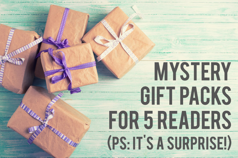 5 Mystery Gift Packs To 5 Readers
