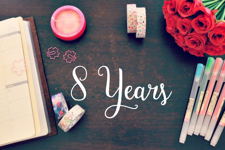 Celebrating 8 Years of Blogging With Something Extra Special!