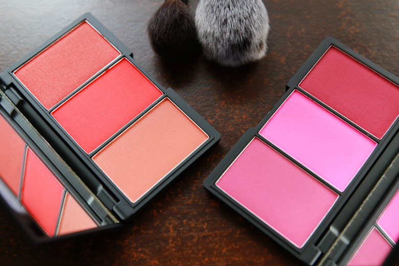 Sleek Blush By 3 Palette in Pink Spirit and Flame
