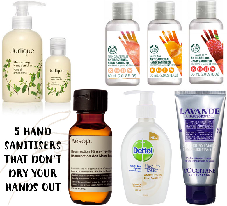 5 Hand Sanitisers That Don't Dry Skin Out
