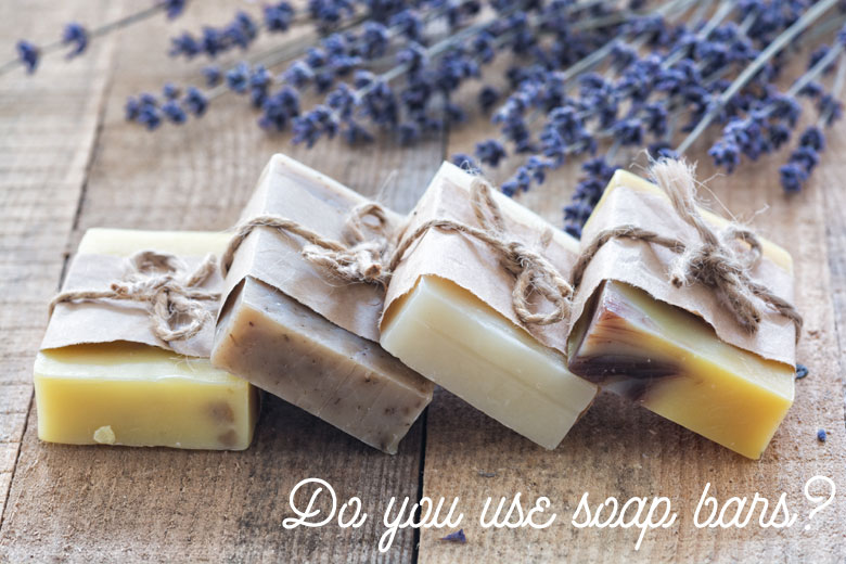 In The Shower: Do You Use Soap Bars?