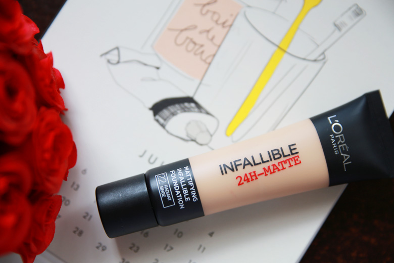 L'Oreal Infallible 24H Matte Foundation   Beautyholics Anonymous
