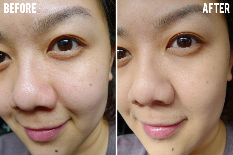 L'Oreal Infallible 24H Matte Foundation Before and After  Beautyholics Anonymous