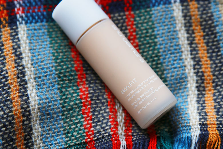 Go Bare and Silicone-Free With Shu Uemura's Skin:FIT Cosmetic Water Foundation