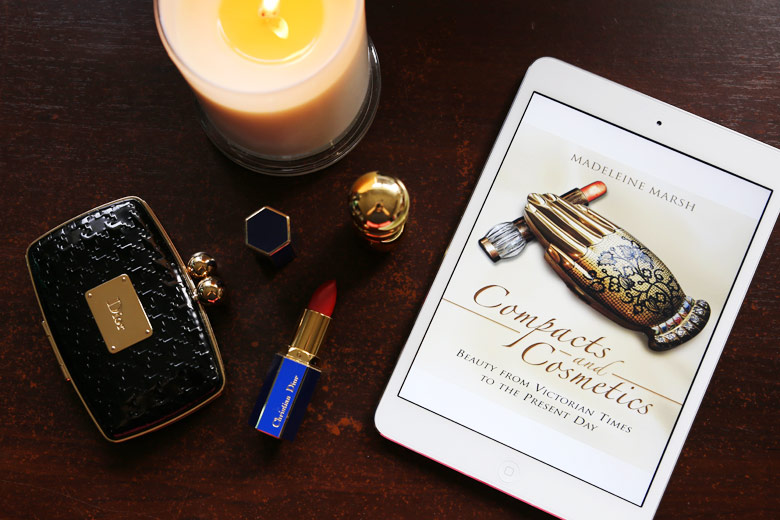 On My Beauty Bookshelf: Compacts and Cosmetics by Madeleine Marsh