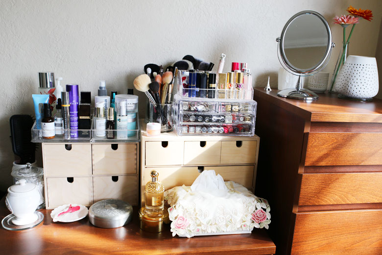 A Peek Into My Beauty Corner