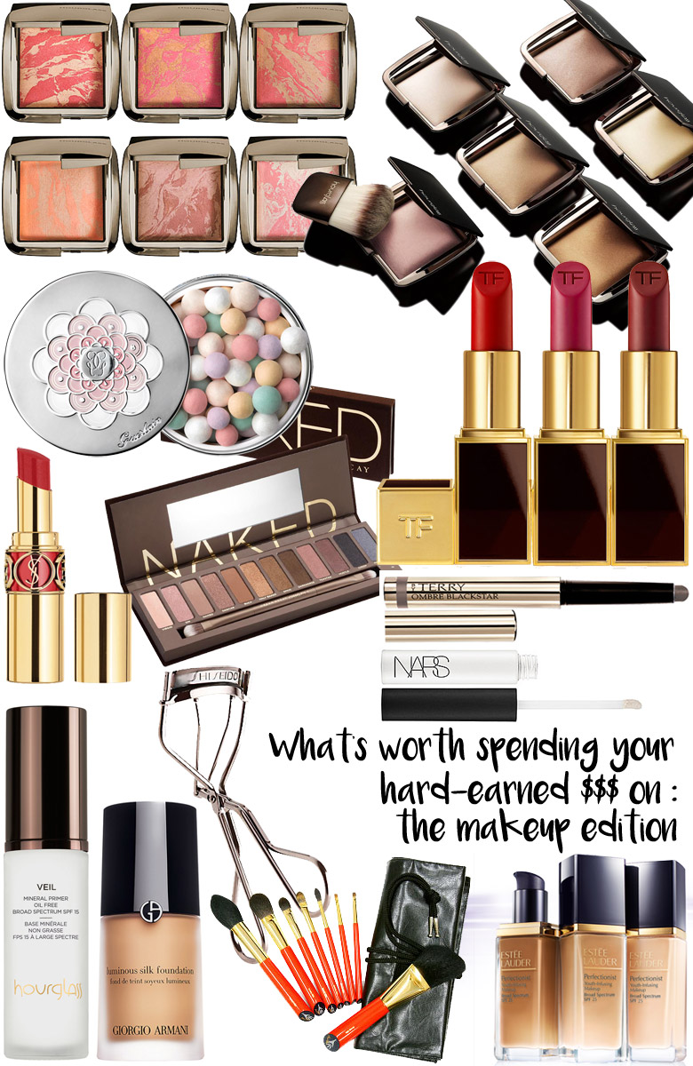 What's Worth Spending Your Hard-Earned Dosh On: The Makeup Edition