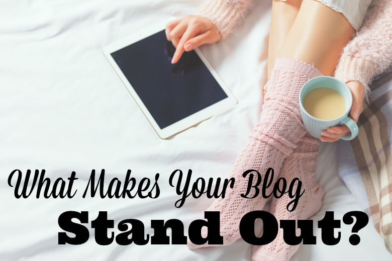 Bloggie Wednesday: What Makes Your Blog Stand Out?