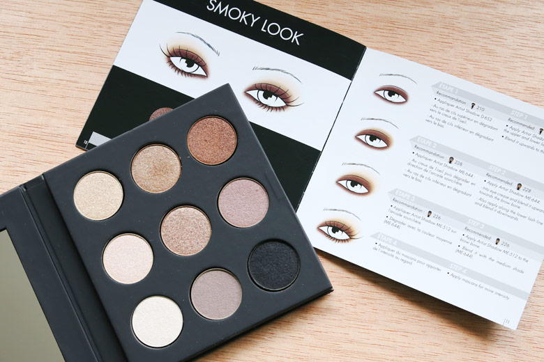 Make Up For Ever Palette 9 Artist Shadow #1