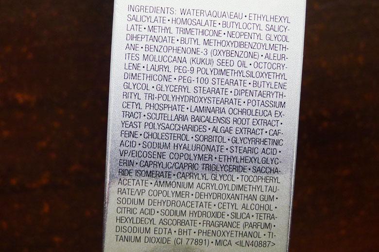 Estee Lauder Crescent White Full Cycle Brightening UV Protector SPF50 Ingredients