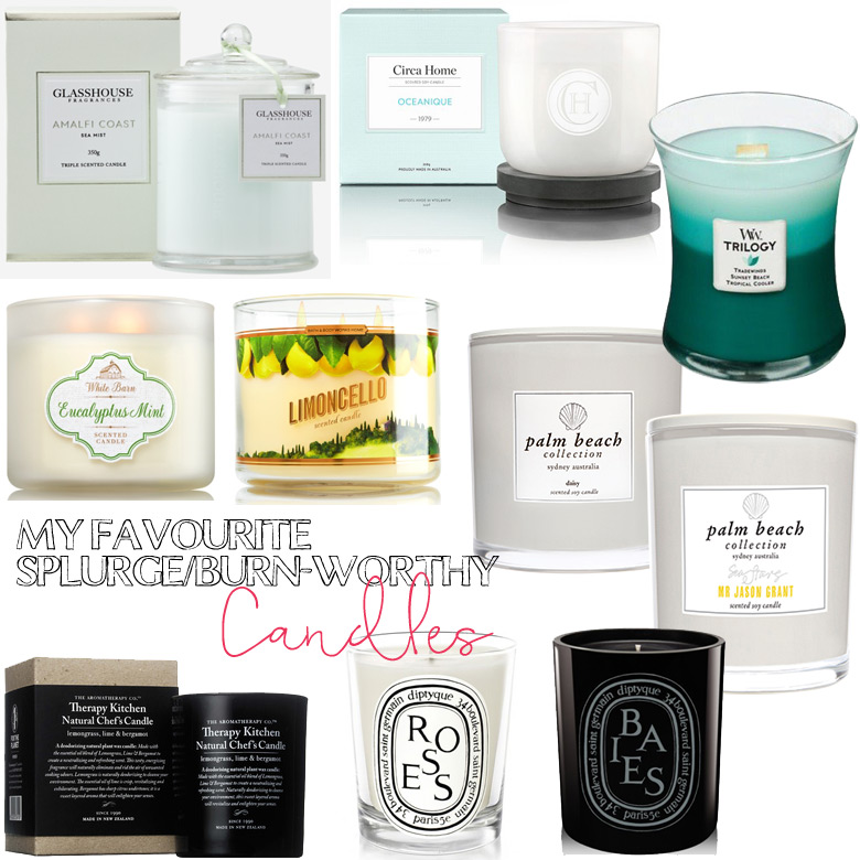My Favourite Splurge-and-Burn-Worthy Candles