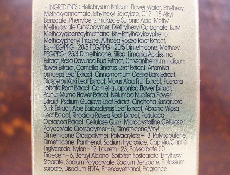 Missha All Around Safe Block Mild Essence Sun Milk SPF45 Ingredients