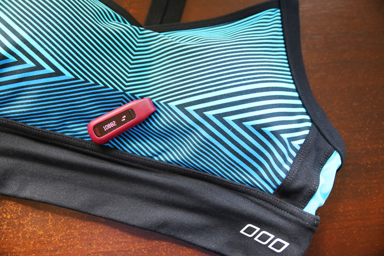 Fitbit One and Lorna Jane Crop Top
