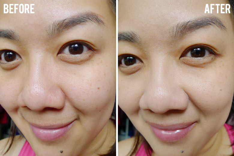 Too Faced Born This Way Absolute Perfection Foundation Before and After