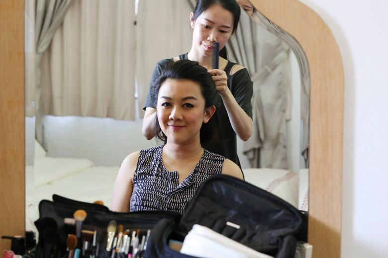 When Getting Your Makeup Done Professionally, Don't Be Afraid To Use Your Own Makeup
