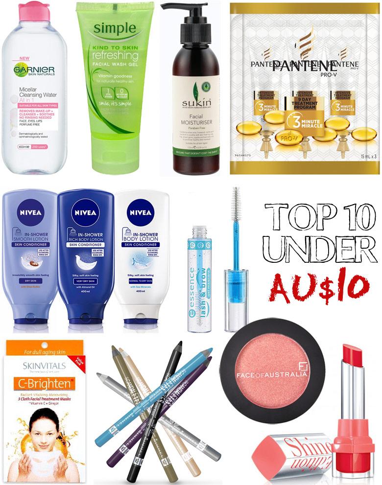 Tine's Top 10 Under AU$10 2015