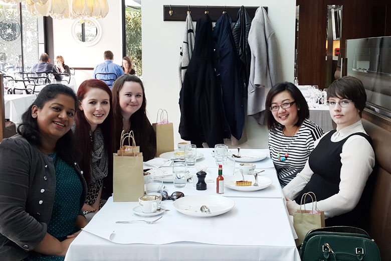 2015 Highlight - Blogger Lunch with Readers