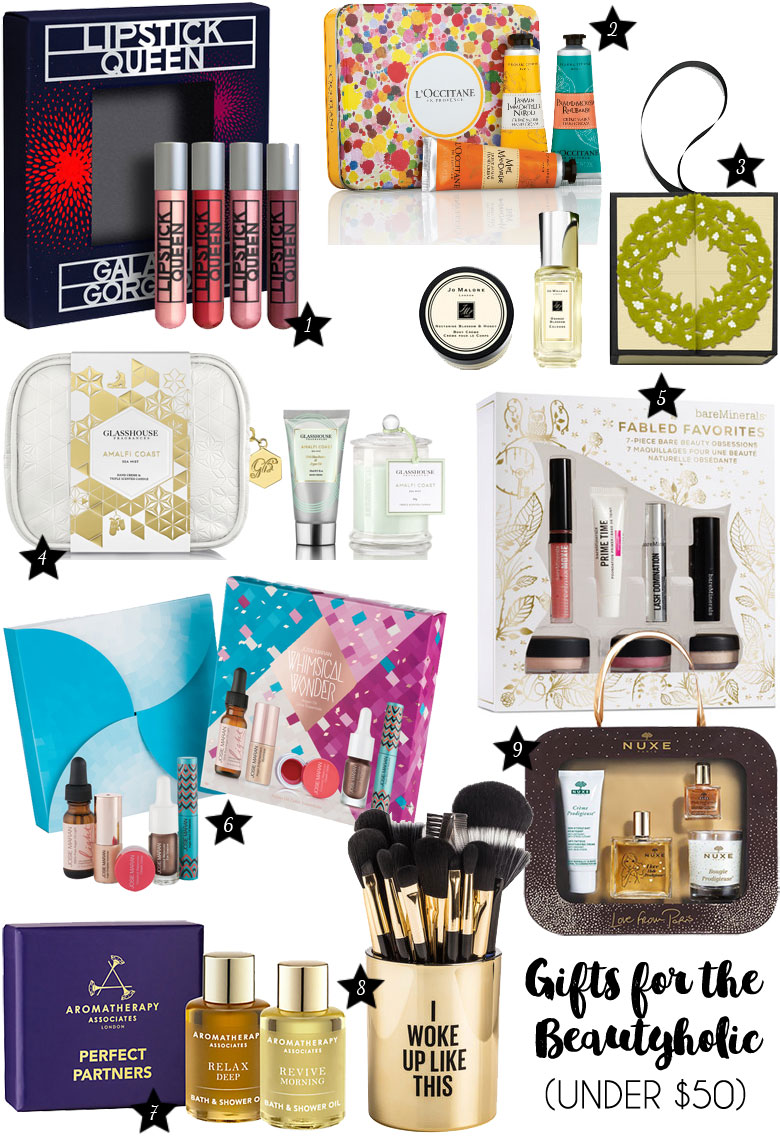 Christmas Gift Guide 2015 For The Beautyholic Under 50