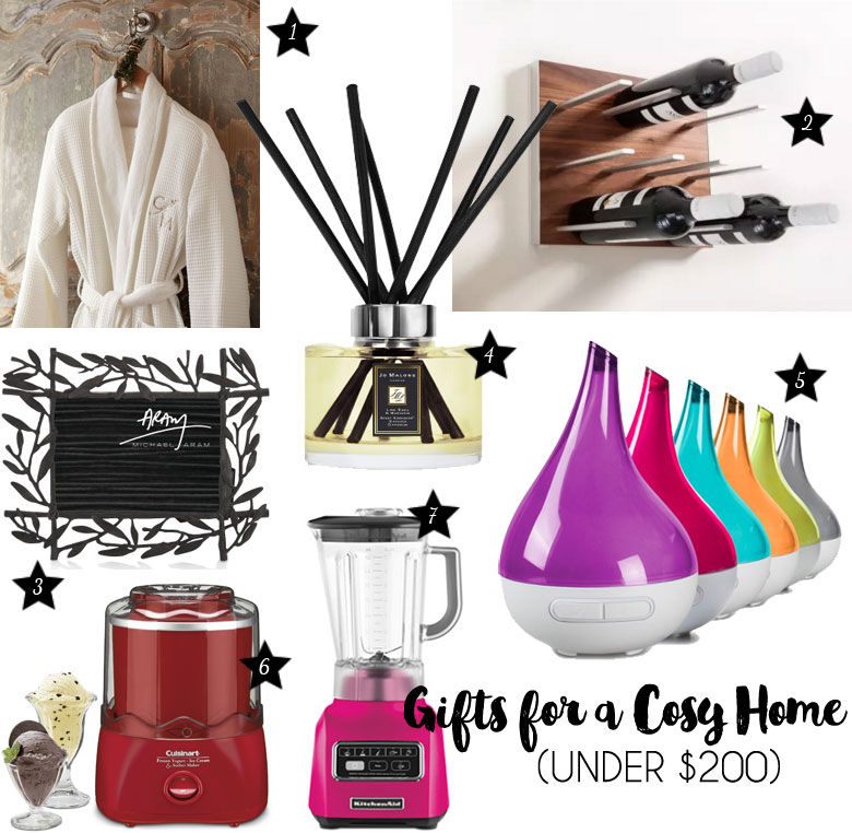 Christmas Gift Guide 2015 For A Cosy Home Under $200