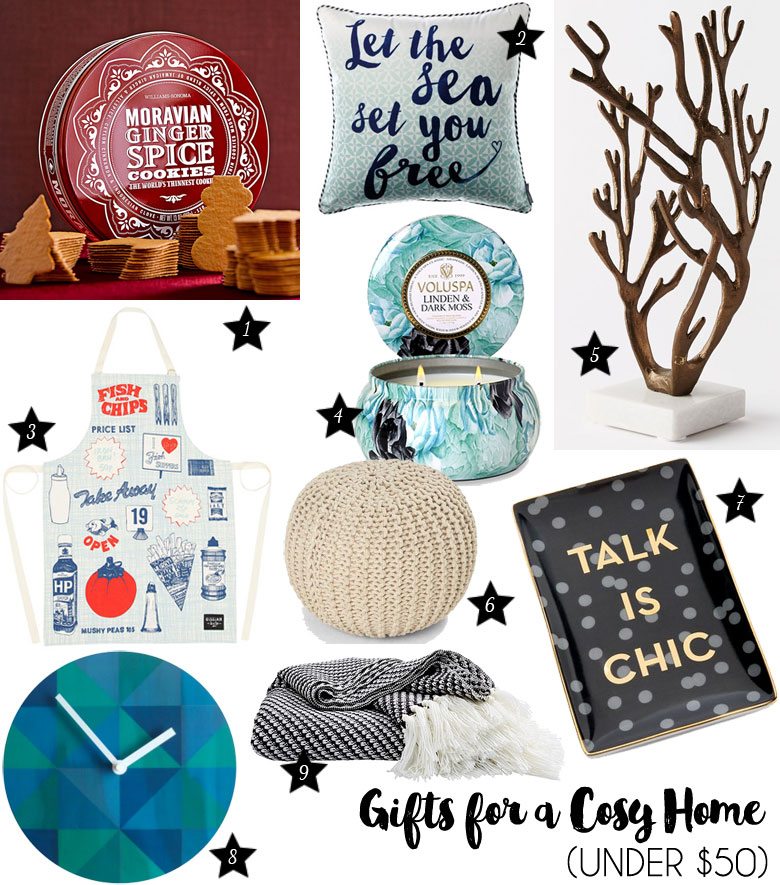Christmas Gift Guide 2015 For A Cosy Home Under $50