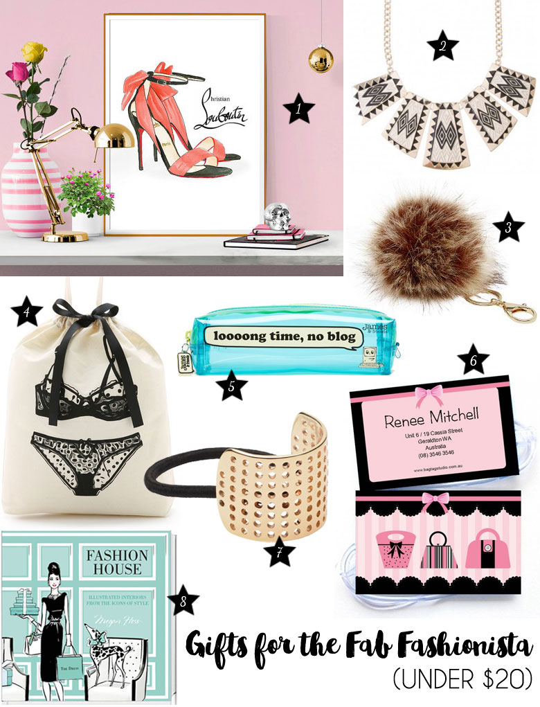 Christmas Gift Guide 2015 For The Fab Fashionista Under 20