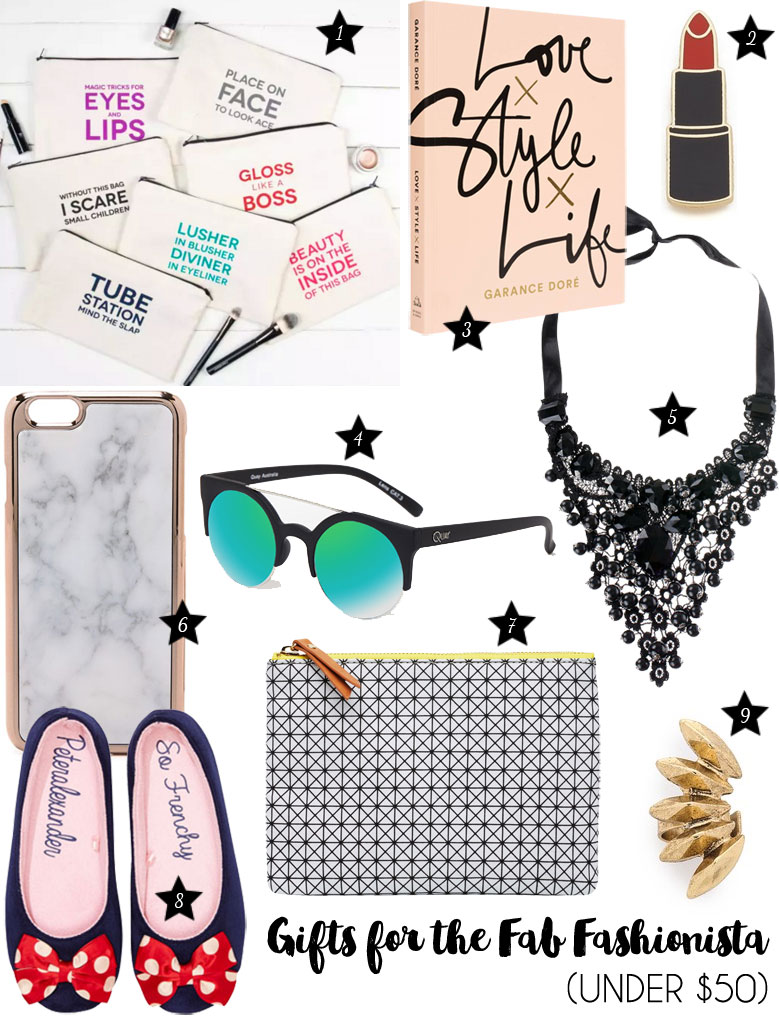 Christmas Gift Guide 2015 For The Fab Fashionista Under 50