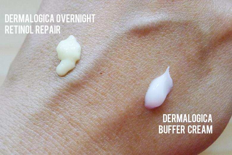 Dermalogica Overnight Retinol Repair Swatch
