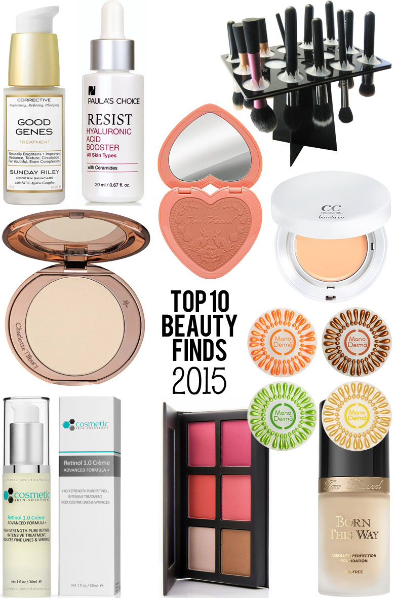 Top 10 Beauty Finds of 2015