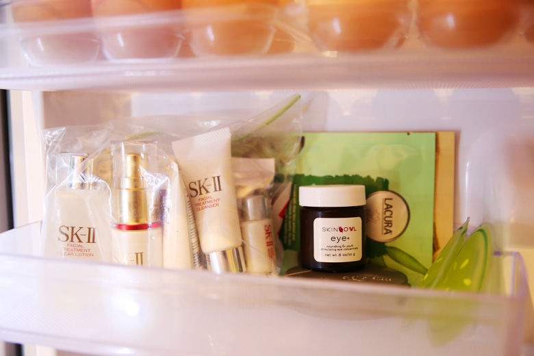 I've Got Skincare Goodies … In The Fridge!