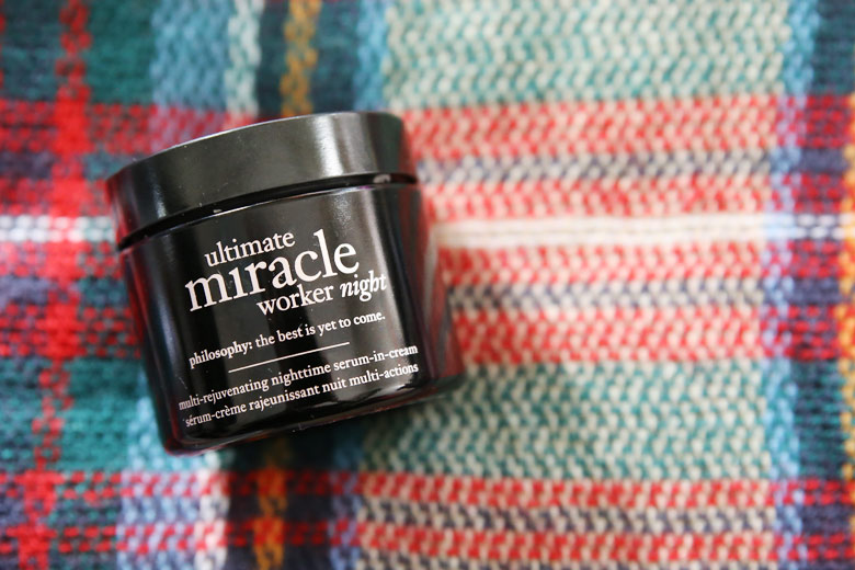 Don't Know About Working Miracles, But This Philosophy Night Cream Works A Treat!