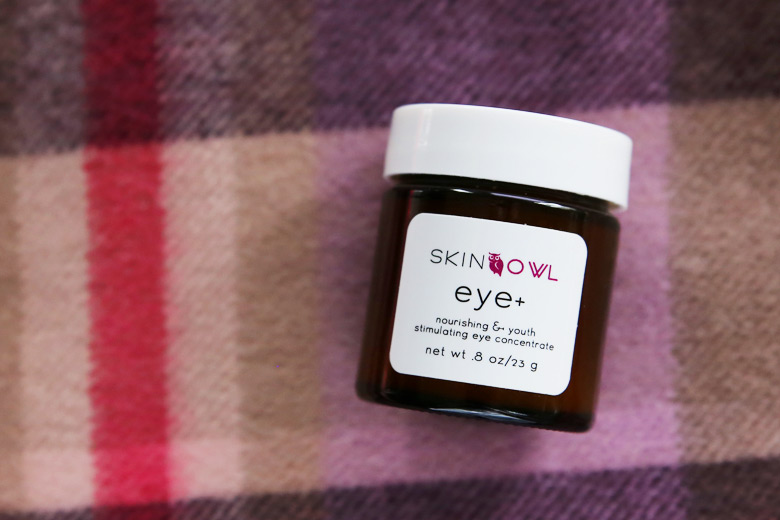 SkinOwl Eye+ Nourishing And Youth Stimulating Eye Concentrate: Nourishing Yes. The Rest? Meh.