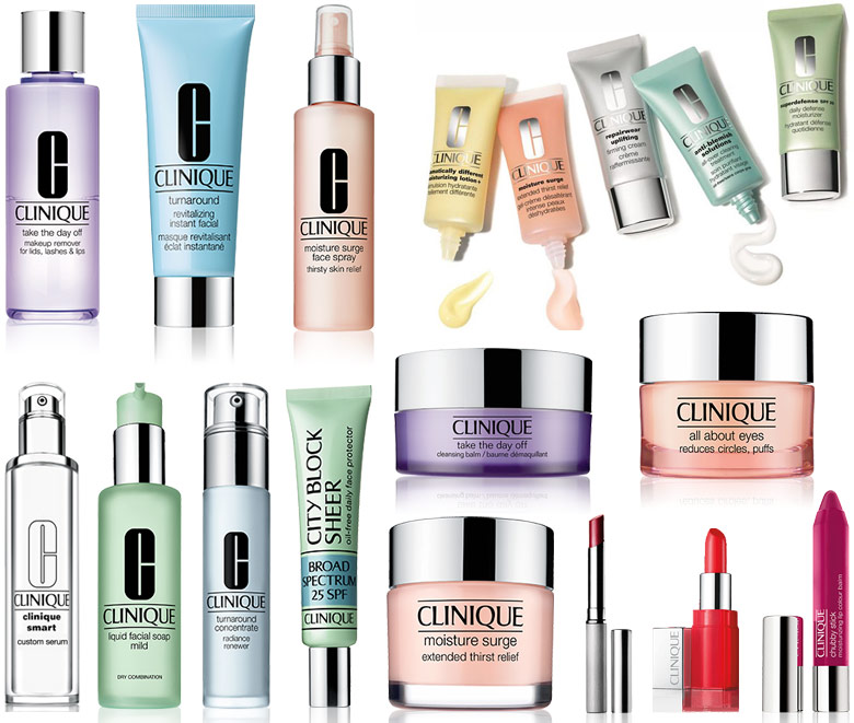 Recommended Clinique Products