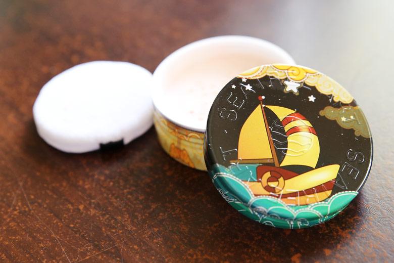 A Korean Cheapie But A Goodie Loose Powder That Is Seatree's UV Cut Powder