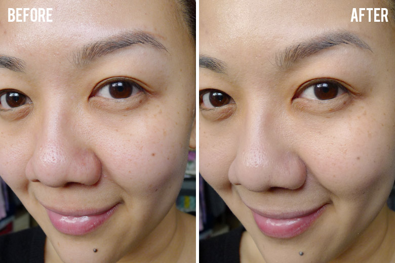 Sulwhasoo Perfecting Cushion Before and After