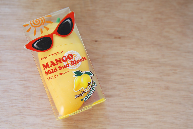 Tony Moly Mango Mild Sun Block: The Best-Smelling Sunscreen EVER
