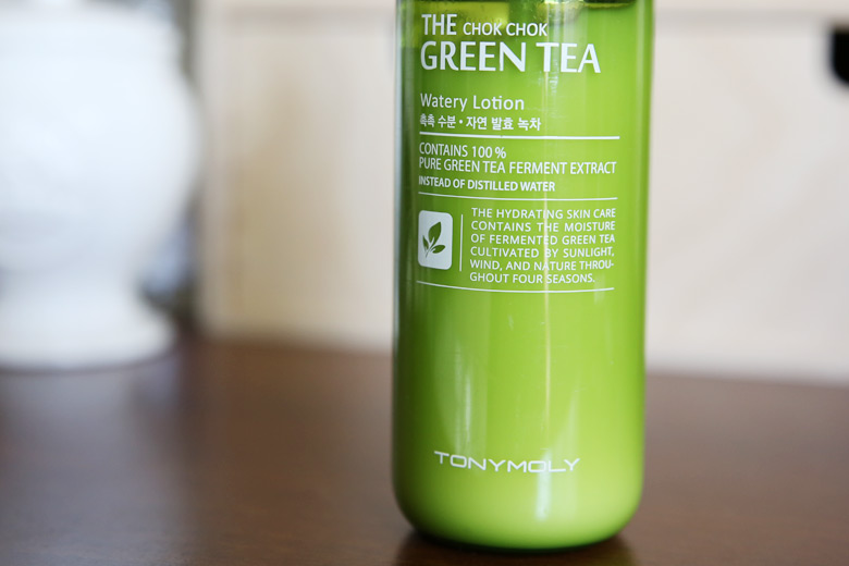 Tony Moly The Chok Chok Green Tea Watery Lotion: Water? What Water?