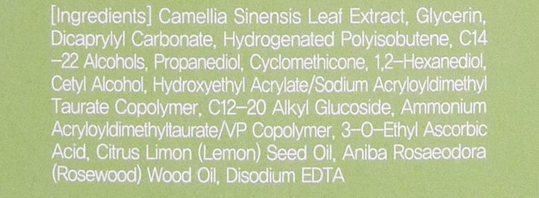 Tony Moly The Chok Chok Green Tea Watery Lotion Ingredients
