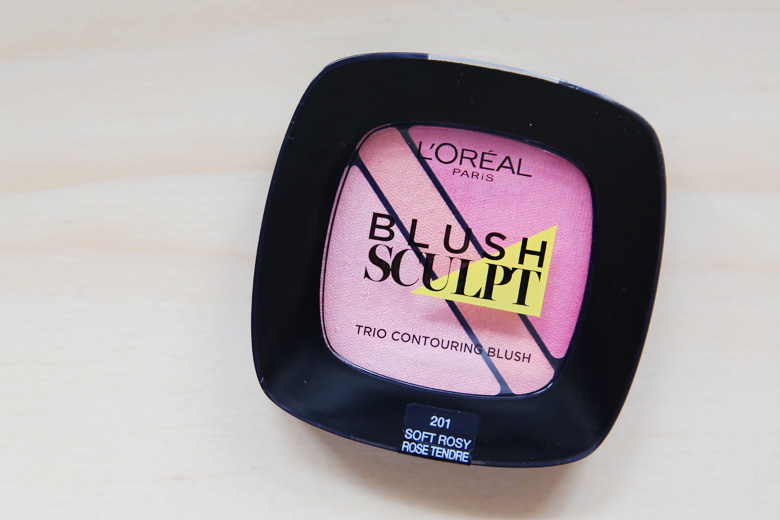 L'Oreal Blush Sculpt Trio Contouring Blush in Soft Rosy: Sculpt and Contour? Nah. All Round Blush? Oh Yes!