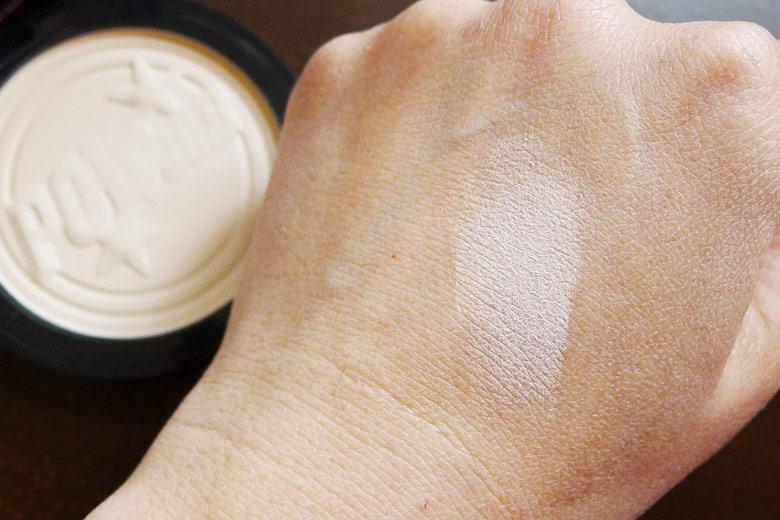 Soap & Glory One Heck of A Blot Super Translucent Mattifying Powder Swatch