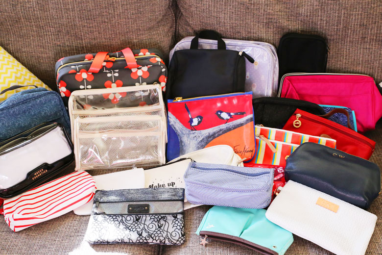 Hoarder Special: Makeup And Toiletries Bags