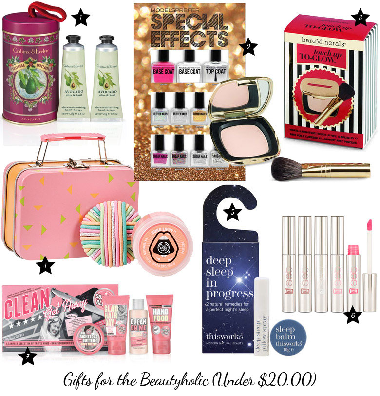 Christmas Gift Guide 2017 For The Beautyholic Under 20